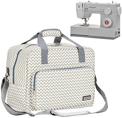 HOMEST Sewing Machine Carrying Case