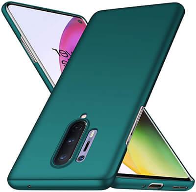 Almiao OnePlus 8 Pro Case, Minimalist Slim Protective Phone Case