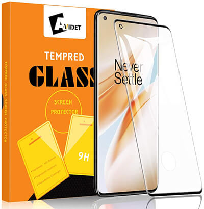 AVIDET for OnePlus 8 Pro Screen Protector