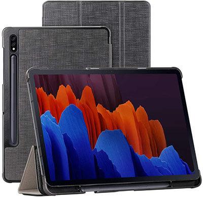 Redluckstar Samsung Galaxy Tab S7 Plus Case