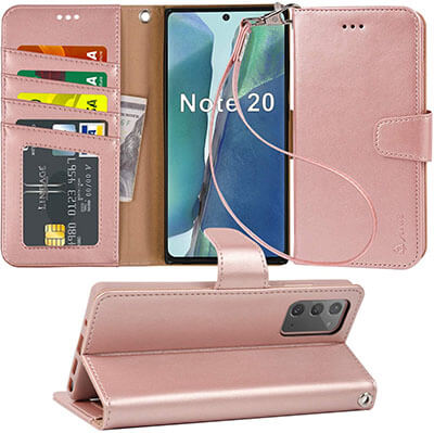 Arae Wallet Case for Samsung Galaxy Note 20