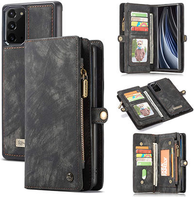 AKHVRS Galaxy Note 20 Wallet Case