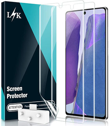 LK Self-Healing HD Screen Protector for Galaxy Note