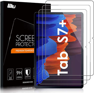 WRJ Screen Protector for Galaxy Tab S7 Plus