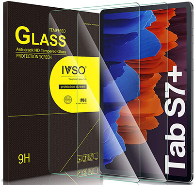 IVSO Screen Protector for Galaxy Tab S7 Plus