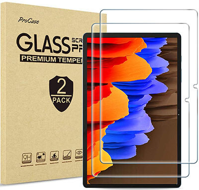 ProCase Galaxy Tab S7 Plus Screen Protector