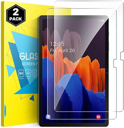 MoKo Tempered Glass Samsung Galaxy Tab S7 Plus Screen Protector