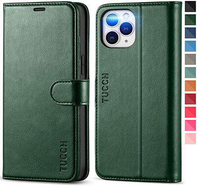 TUCCH Wallet iPhone 12 Pro Max Case