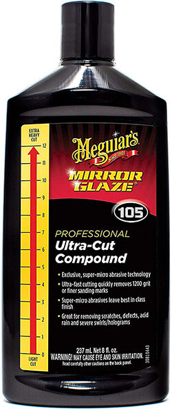 Meguiar's M10508 Mirror Glaze Ultra-Cut Compound