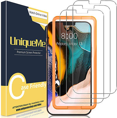 Tempered Screen Glass for Apple iPhone 12 Pro Max 6.7 inch Protection by UniqueMe