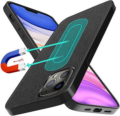 UNIOTEK Magnetic Case for iPhone 12 Pro Max